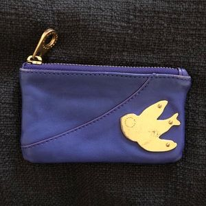 Marc by Marc Jacobs Metal Leather Key Pouch